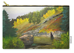 Carry-all Pouch featuring the painting San Juan River by Barbara Haviland