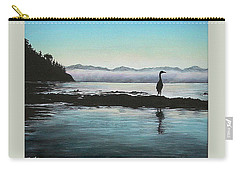 Carry-all Pouch featuring the painting San Juan Sentinel by Kim Lockman