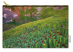 Carry-all Pouch featuring the photograph San Juan Sunrise by Darren White