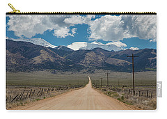 San Luis Valley Back Road Cruising Carry-all Pouch by James BO Insogna