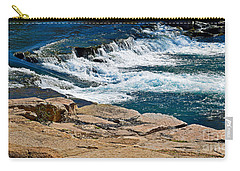 San Marcos River Waterfall  Carry-all Pouch