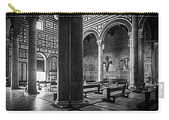 Carry-all Pouch featuring the photograph San Miniato Al Monte by Sonny Marcyan