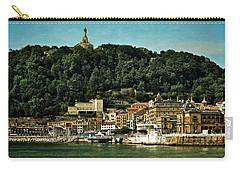San Sebastian Spain Carry-all Pouch by Mary Machare