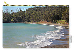 Carry-all Pouch featuring the photograph San Simeon Cove by Art Block Collections