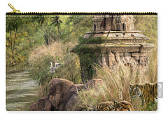 Carry-all Pouch featuring the digital art Sanctuary by Don Olea