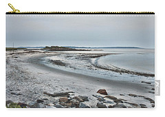 Sand Along The Shoreline Carry-all Pouch