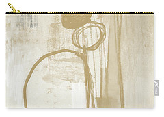 Sand And Stone 2- Contemporary Abstract Art By Linda Woods Carry-all Pouch