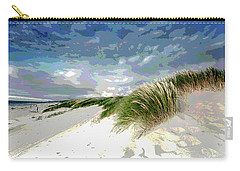 Sand And Surfing Carry-all Pouch by Charles Shoup