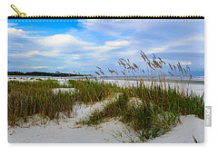 Sand Dunes And Blue Skys Carry-all Pouch