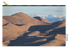 Sand Dunes And Rocky Mountains Panorama Carry-all Pouch by James BO Insogna