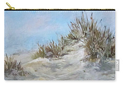 Sand Dunes And Salty Air Carry-all Pouch by Barbara O'Toole