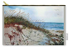 Sand Dunes And Sea Oats Carry-all Pouch