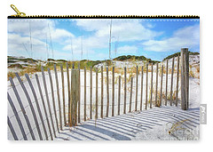 Carry-all Pouch featuring the photograph Sand Dunes At Grayton Beach # 2 by Mel Steinhauer