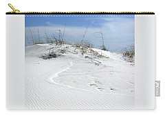 Carry-all Pouch featuring the photograph Sand Dunes Dream 2 by Marie Hicks