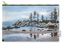 Carry-all Pouch featuring the photograph Sand Harbor by Charles Garcia