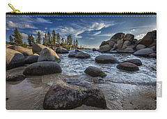 Sand Harbor II Carry-all Pouch by Rick Berk