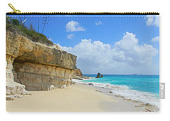 Sand Sea And Sky Carry-all Pouch by Expressionistart studio Priscilla Batzell