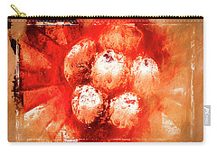 Carry-all Pouch featuring the digital art Sand Storm by Carolyn Marshall