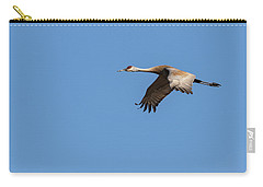 Carry-all Pouch featuring the photograph Sandhill Crane 2017-1 by Thomas Young