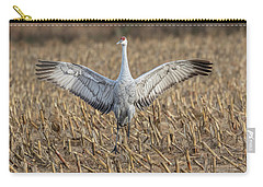Sandhill Crane 2017-5 Carry-all Pouch