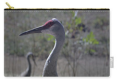 Sandhill Crane Early Fall Carry-all Pouch