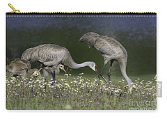 Sandhill Crane Family Carry-all Pouch