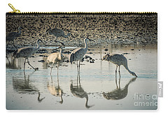 Sandhill Crane Reflections Carry-all Pouch