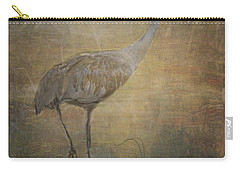 Sandhill Crane Watercolor Carry-all Pouch