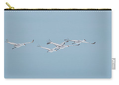 Sandhill Cranes In Formation Carry-all Pouch