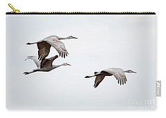 Sandhill Cranes Carry-all Pouch by Paul Mashburn