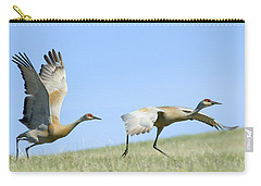 Sandhill Cranes Taking Flight Carry-all Pouch