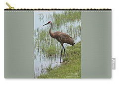Sandhill In The Marsh Carry-all Pouch
