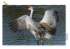 Sandhill Crane Wingstretch Carry-all Pouch