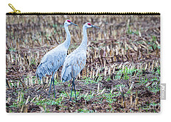 Sandhills In Their Fall Coat Carry-all Pouch by Ricky L Jones