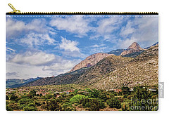 Carry-all Pouch featuring the photograph Sandias Magic by Gina Savage