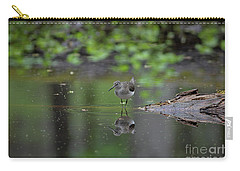Sandpiper In The Smokies Carry-all Pouch by Douglas Stucky