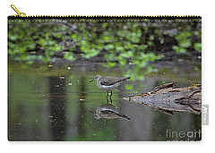 Carry-all Pouch featuring the photograph Sandpiper In The Smokies II by Douglas Stucky