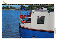Carry-all Pouch featuring the photograph Sandpiper On The Maumee by Michiale Schneider