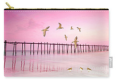 Sandpiper Sunset Carry-all Pouch