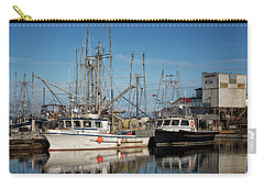 Carry-all Pouch featuring the photograph Sandra M And Lasqueti Dawn by Randy Hall