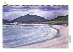 Carry-all Pouch featuring the painting Sands, Harris by Richard James Digance