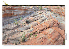 Sandstone Crest In Valley Of Fire Carry-all Pouch