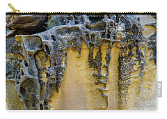 Carry-all Pouch featuring the photograph Sandstone Detail Syd01 by Werner Padarin