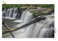 Carry-all Pouch featuring the photograph Sandstone Falls by Ronald Santini
