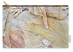 Sandstone Rainbow In Valley Of Fire Carry-all Pouch