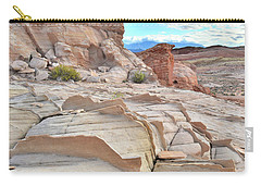 Sandstone Staircase In Valley Of Fire Carry-all Pouch