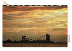Sandusky Coal Dock Sunset Carry-all Pouch