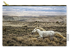 Sandwash Stallion Galloping Carry-all Pouch by Joan Davis