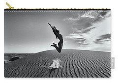 Sandy Dune Nude - The Jump Carry-all Pouch