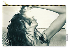 Sandy Dune Nude - The Woman Carry-all Pouch